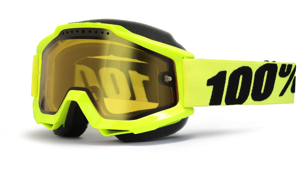 Brilles 100% Acc Snow Fl/Yl Yellow
