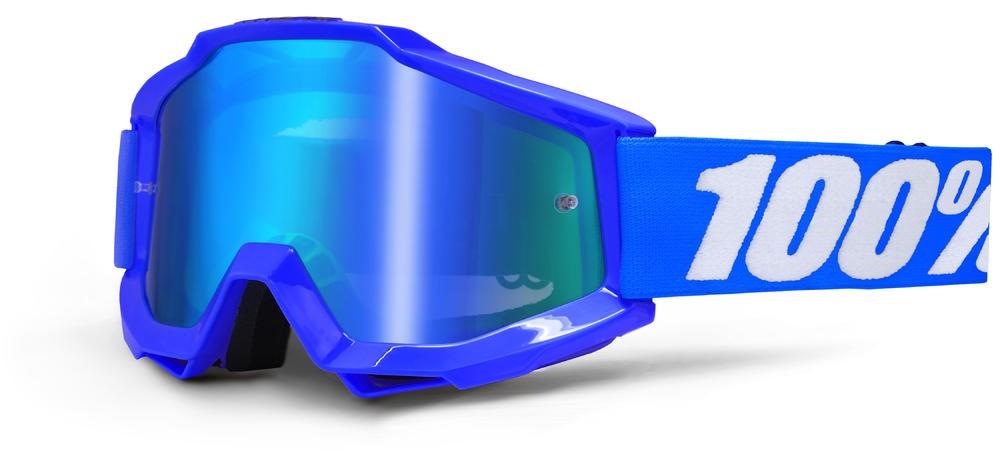 Brilles 100% Acc Bl Mirror/Blue