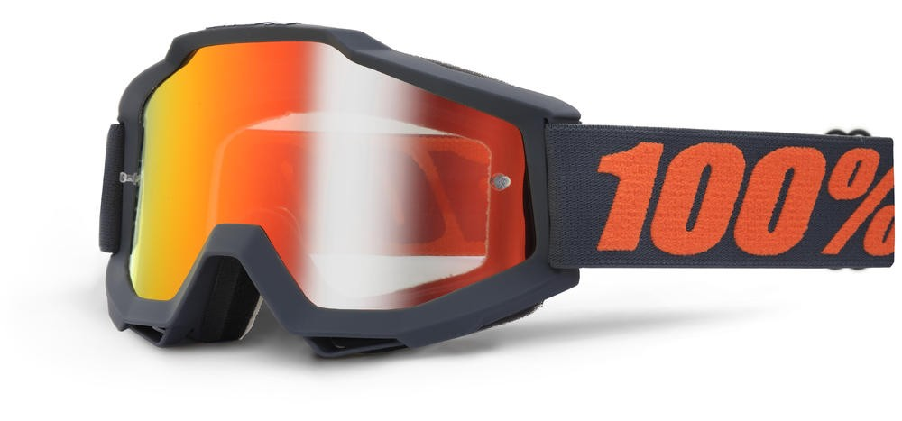 Brilles 100% Acc Gnmtl Mirror/Red