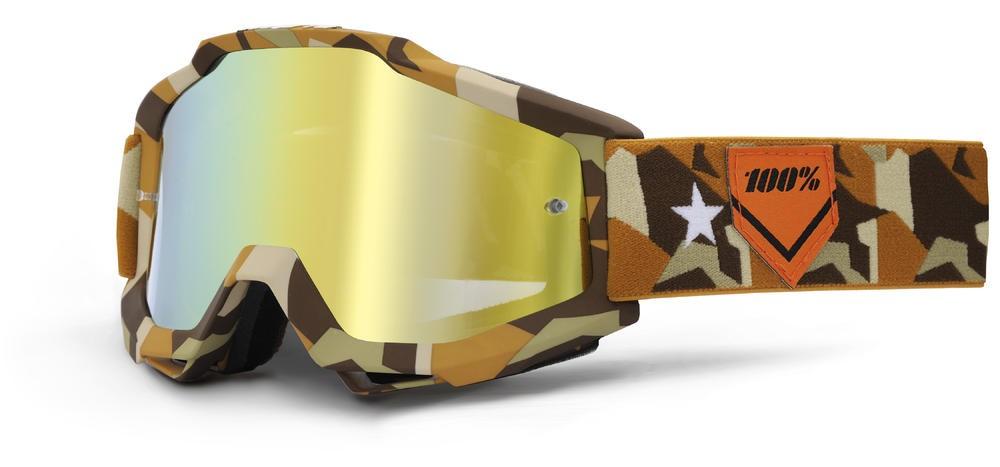 Brilles 100% Acc Cam Mirror/Gold