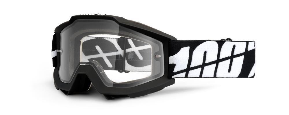 Brilles 100% Acc Enduro Dual Clear