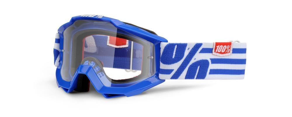 Brilles 100% Yth Nimitz Clear