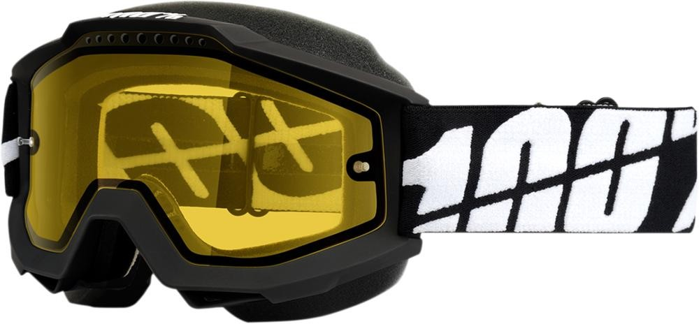 Brilles 100% Acc Snow Bk/Yl