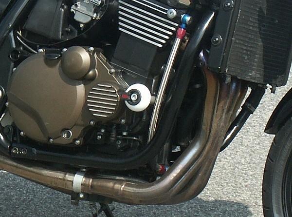 LSL avārijas paliktņu uzstādīšanas komplekts Kawasaki ZRX 1200 (all)