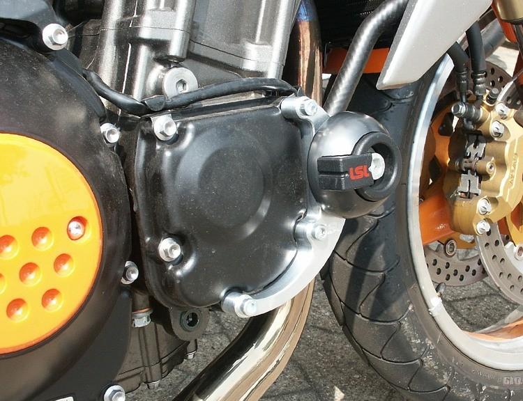 LSL avārijas paliktņu uzstādīšanas komplekts Kawasaki Z 1000 03-06