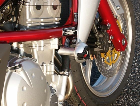 LSL avārijas paliktņu uzstādīšanas komplekts Kawasaki Versys 07-