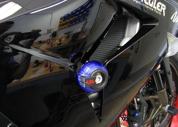 LSL avārijas paliktņu uzstādīšanas komplekts Kawasaki ZX-10R 06-07