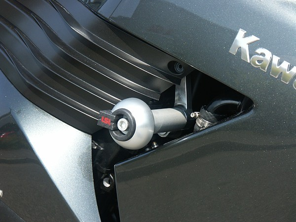 LSL avārijas paliktņu uzstādīšanas komplekts Kawasaki ZZR 1400 06-