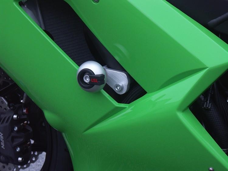 LSL avārijas paliktņu uzstādīšanas komplekts Kawasaki ZX-6R  07-08