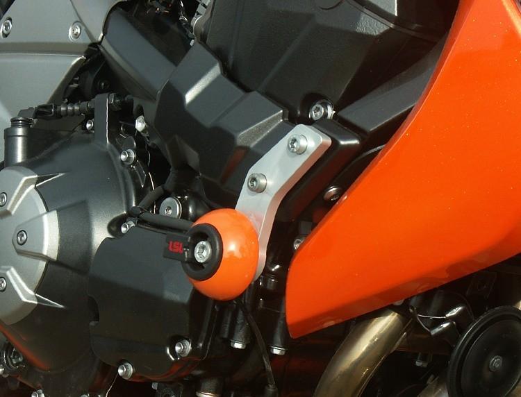 LSL avārijas paliktņu uzstādīšanas komplekts Kawasaki Z 1000 07-09