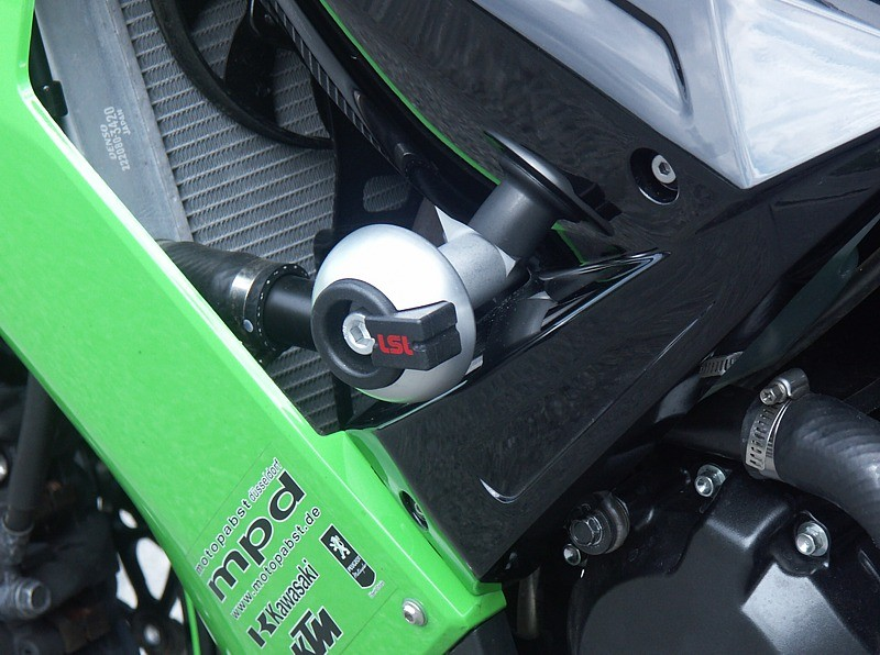 LSL avārijas paliktņu uzstādīšanas komplekts Kawasaki ZX-10R 08-10