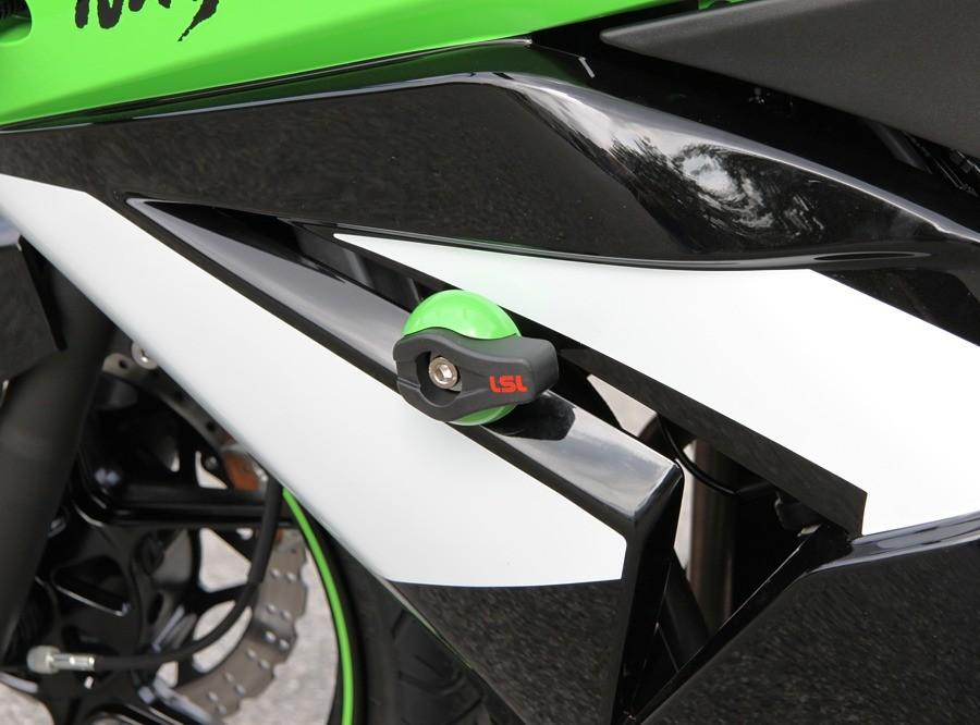 LSL avārijas paliktņu uzstādīšanas komplekts Kawasaki Ninja 250R 08-
