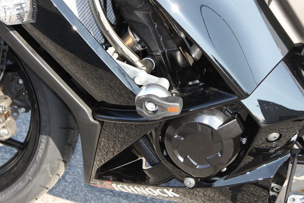 LSL avārijas paliktņu uzstādīšanas komplekts Kawasaki Z 1000SX 11-
