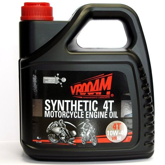 Sintētiska eļļa VROOAM VR50 4T 10W-40 4L