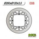 Bremžu disks NG-008