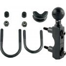 "RAM MOUNT COMBINATION BASE FOR HANDLEBAR OR RESERVOIR WITH 1"" BALL"