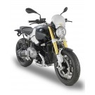 Grey anodized aluminium universal screen Race Cafe GIVI (100AL)