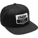 HAT THOR CHEVRON SNPBK BLACK