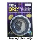 DRCF oglekļa šķiedru sajūga komplekts EBC DRCF131