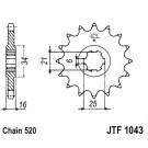 Zobrats priekšējais JT (JTF 1043-14)